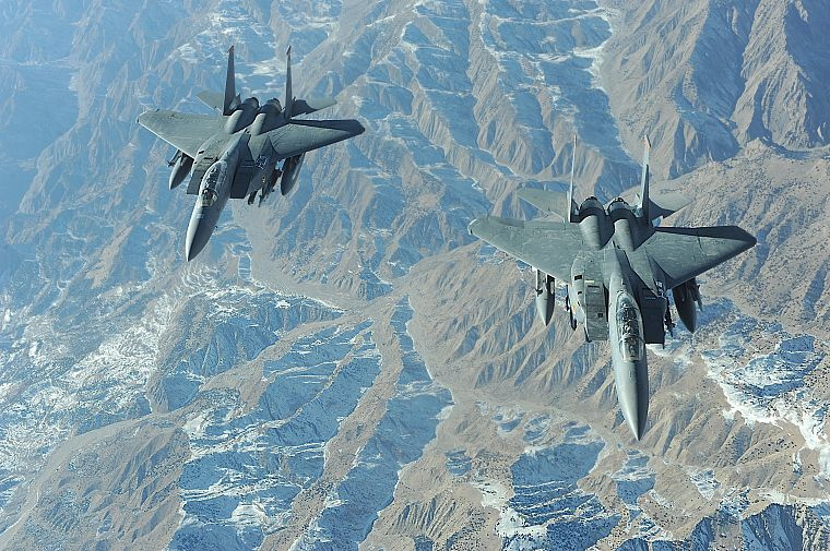 aircraft, military, United States Air Force, vehicles, F-15 Eagle - desktop wallpaper