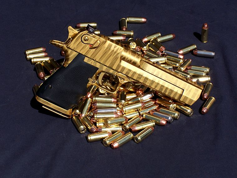 guns, shells, ammunition, Desert Eagle - desktop wallpaper