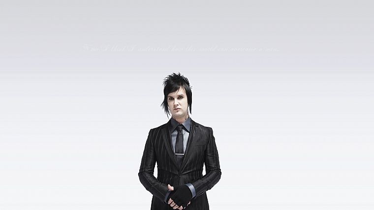 brunettes, tattoos, suit, men, piercings, Avenged Sevenfold, white background, scene - desktop wallpaper