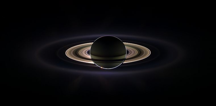outer space, Solar System, planets, NASA, rings, Saturn, Planetes - desktop wallpaper