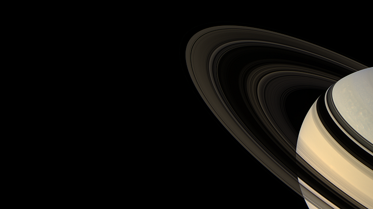 outer space, Solar System, planets, digital, rings, Saturn - desktop wallpaper