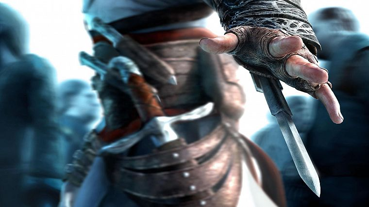 video games, Assassins Creed, Altair Ibn La Ahad - desktop wallpaper