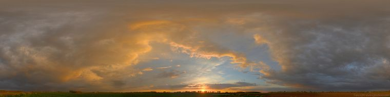 sunset, clouds, landscapes, Sun, panorama, skyscapes - desktop wallpaper