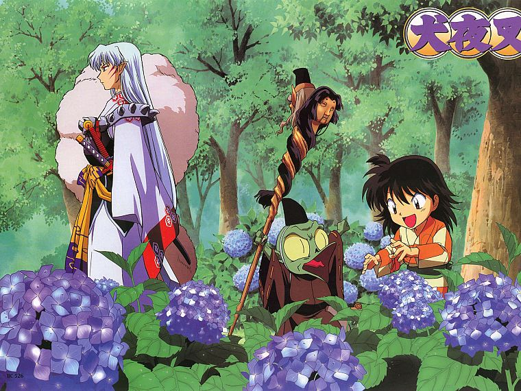 Inuyasha, anime, Sesshomaru, Jaken - desktop wallpaper