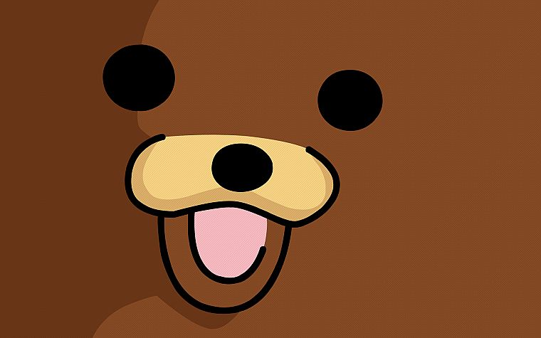 Pedobear, faces - desktop wallpaper