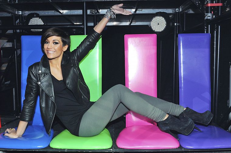 brunettes, women, music, fashion, The Saturdays, singers, dancers, Frankie Sandford - desktop wallpaper