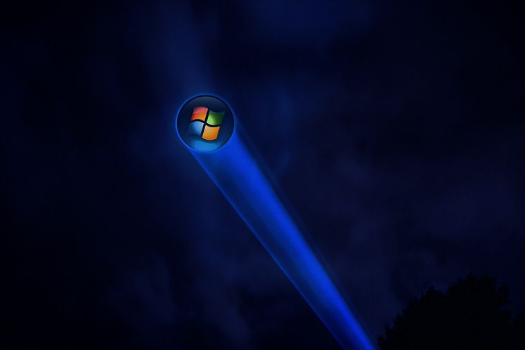 Microsoft Windows, logos - desktop wallpaper