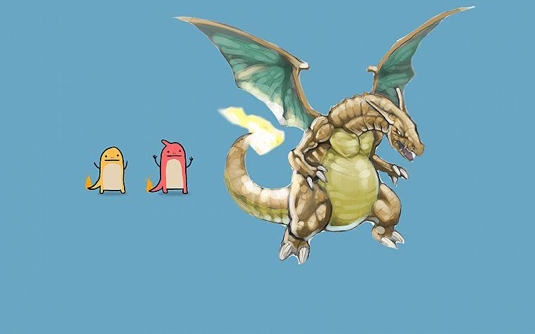 Pokemon, Charmeleon, Charizard, Charmander - Free ...