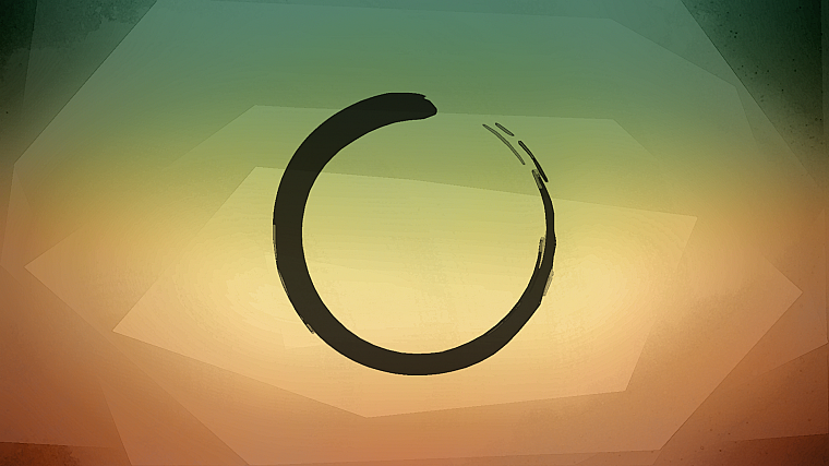 zen, enso - desktop wallpaper