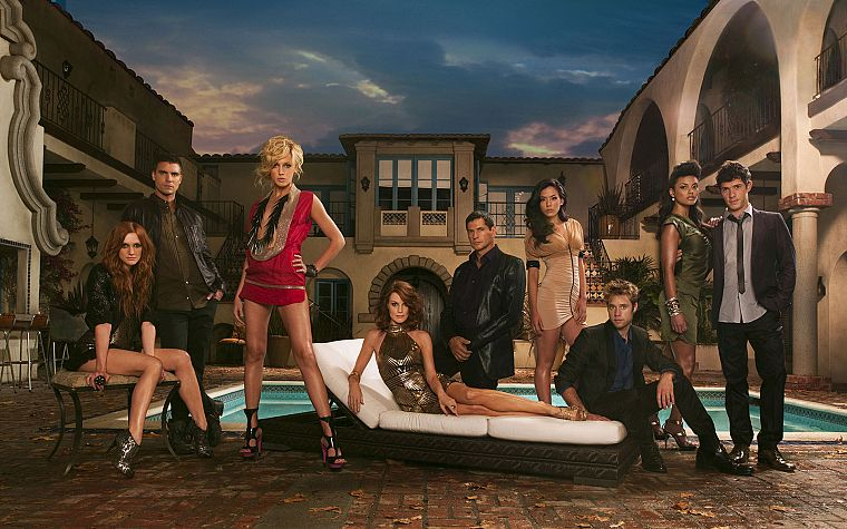 women, Ashlee Simpson, actors, TV series, melrose place - desktop wallpaper