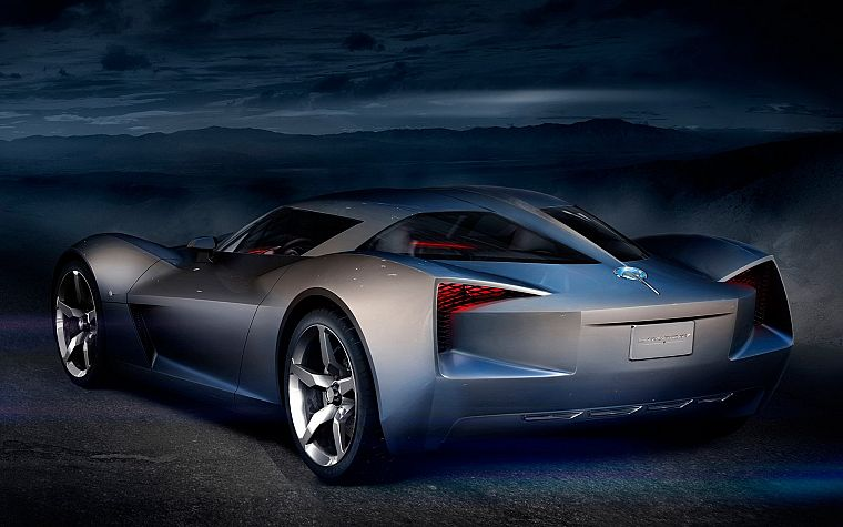 cars, Chevrolet Stingray Concept - desktop wallpaper