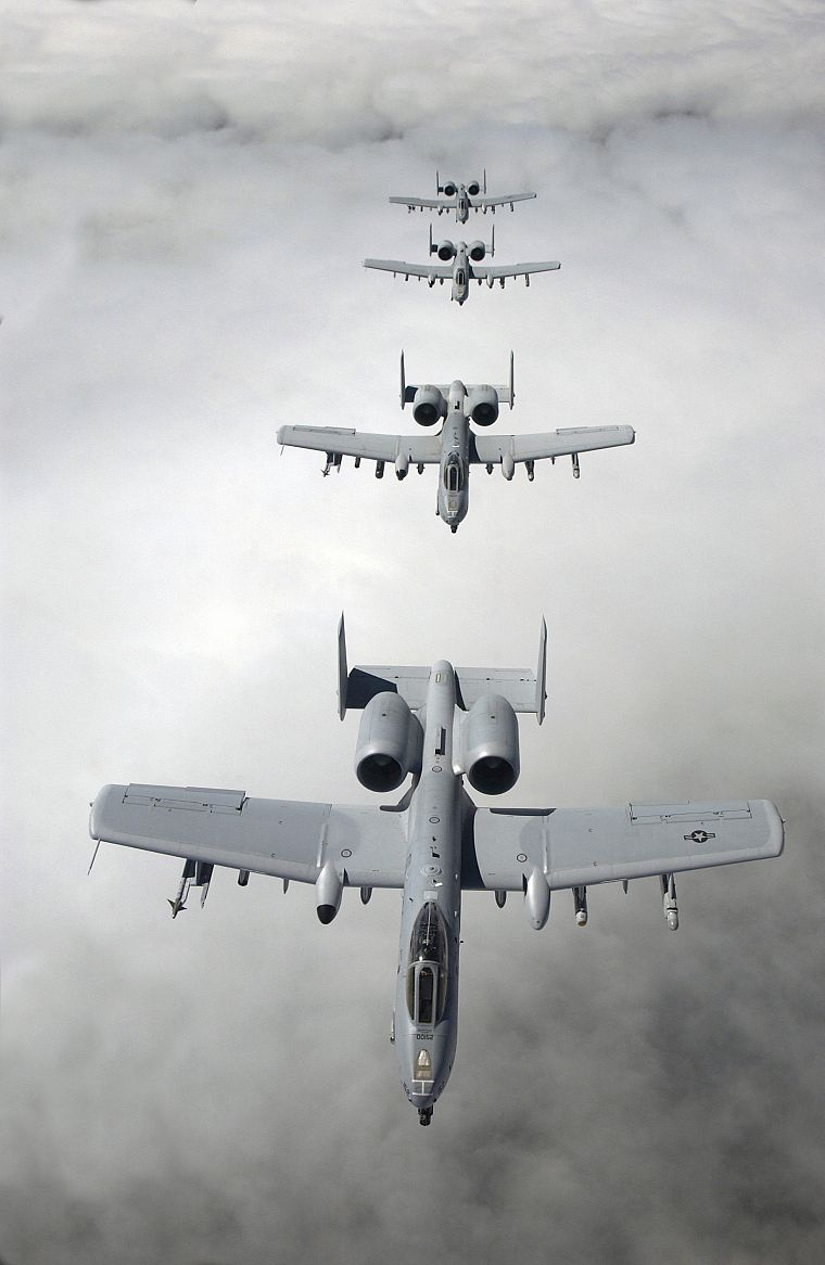 aircraft, military, planes, vehicles, A-10 Thunderbolt II - desktop wallpaper