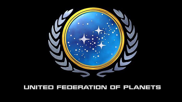 fiction, Star Trek, symbol, logos, United Federation of Planets, Star Trek logos - desktop wallpaper