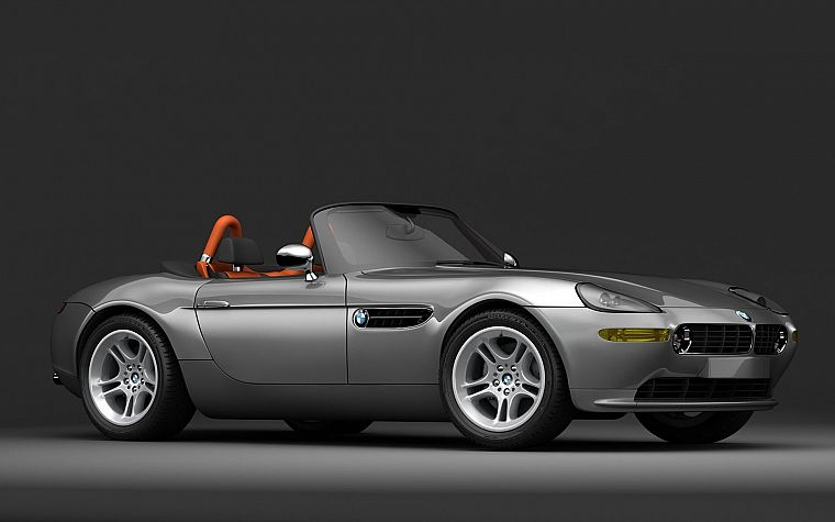 cars, vehicles, BMW Z8, side view - desktop wallpaper