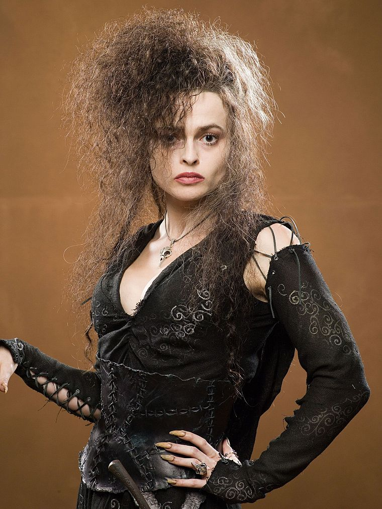 Harry Potter, Helena Bonham Carter, Bellatrix Lestrange, Death Eaters, portraits - desktop wallpaper