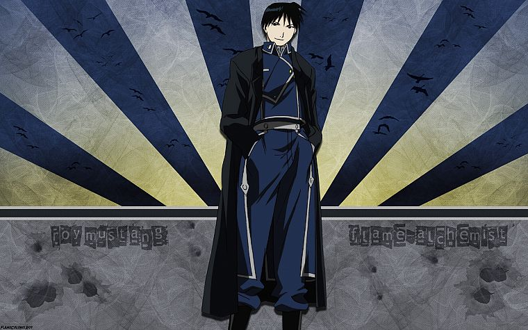 Fullmetal Alchemist, military, Roy Mustang - desktop wallpaper