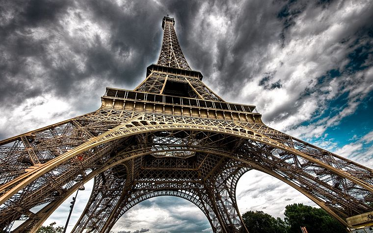 Eiffel Tower, Paris, cityscapes, buildings - desktop wallpaper
