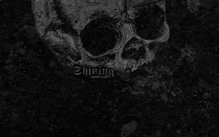 skulls, black, metal, cold, shining, textures - desktop wallpaper