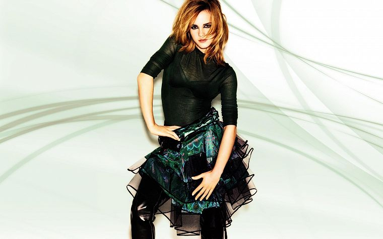 women, Emma Watson, celebrity - desktop wallpaper