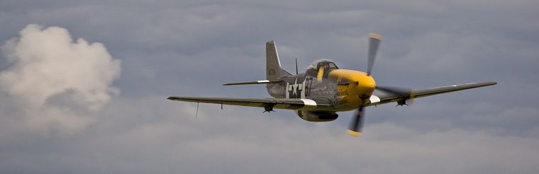 aircraft, World War II, P-51 Mustang - desktop wallpaper