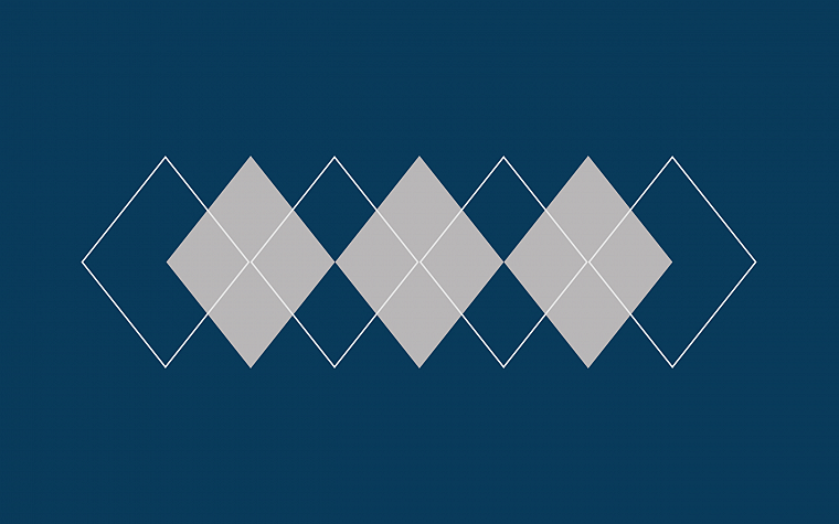 minimalistic, argyle pattern - desktop wallpaper