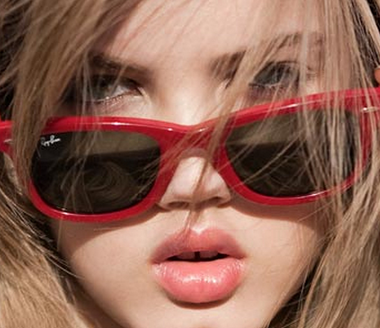 women, sunglasses, teeth, Lindsey Wixson - desktop wallpaper