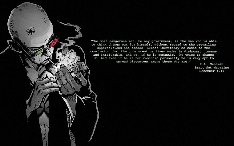 Transmetropolitan, Spider Jerusalem - desktop wallpaper