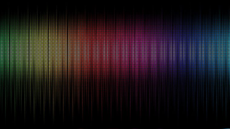 abstract, multicolor, rainbows - desktop wallpaper