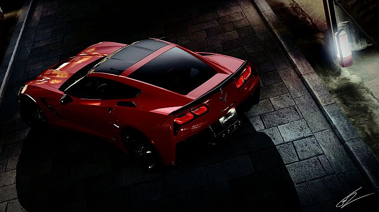 video games, cars, Chevrolet, vehicles, Corvette, races - desktop wallpaper