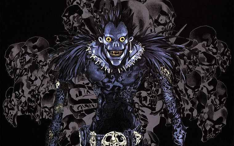 Death Note, Ryuk - desktop wallpaper
