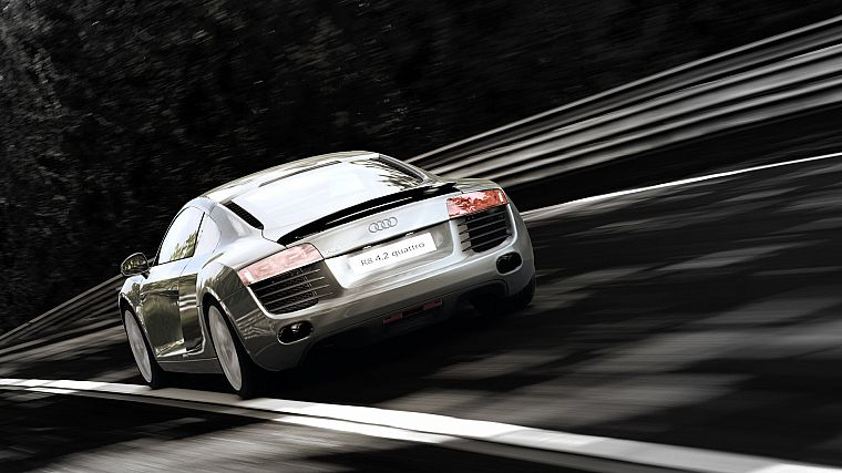 cars, vehicles, Audi R8, Quattro - desktop wallpaper