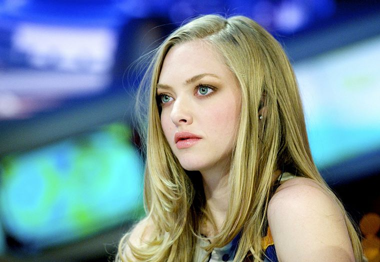 blondes, women, actress, Amanda Seyfried - desktop wallpaper