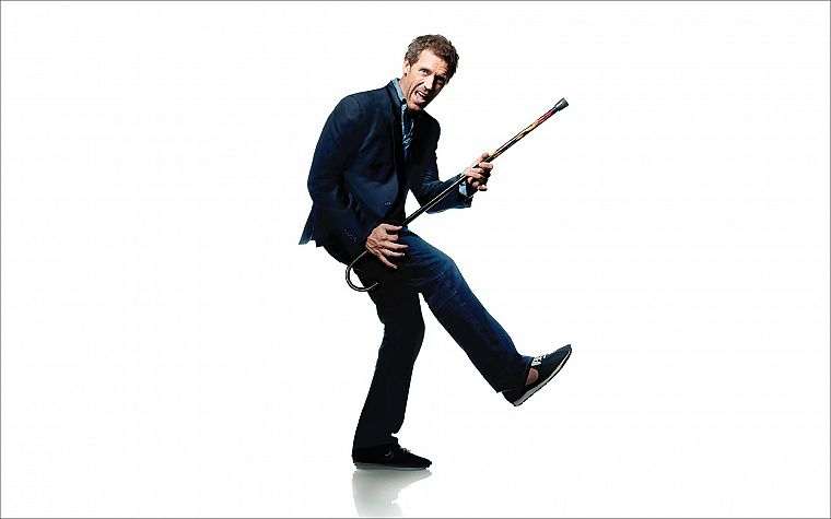 Hugh Laurie, Gregory House, House M.D. - desktop wallpaper
