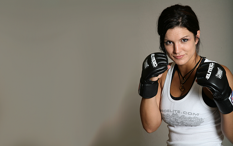 women, Gina Carano - desktop wallpaper