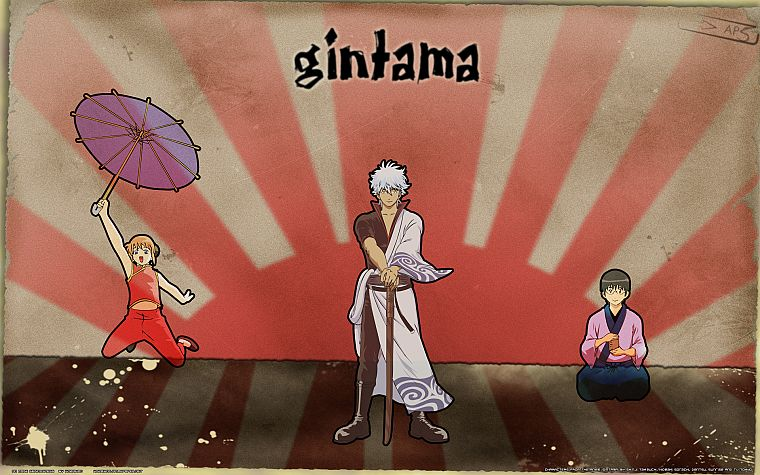 Gintama - desktop wallpaper