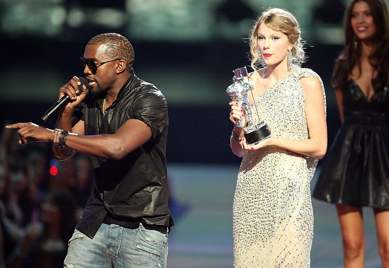 blondes, Taylor Swift, celebrity, MTV, singers, Kanye West, Video Music Awards - desktop wallpaper