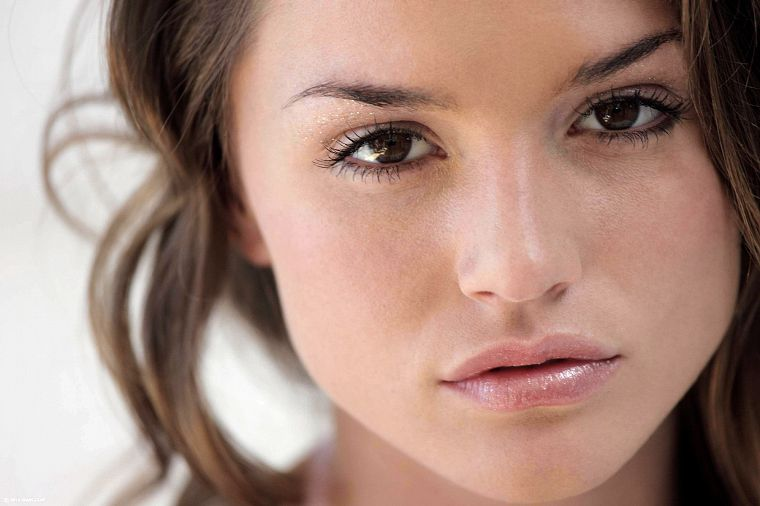 brunettes, women, Tori Black, faces - desktop wallpaper