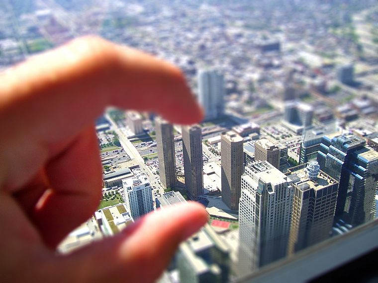 tilt-shift - desktop wallpaper