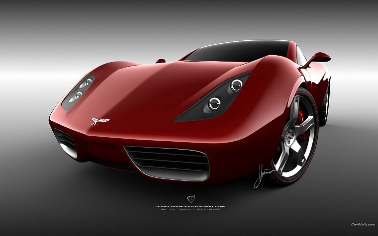 cars, design, Chevrolet - desktop wallpaper