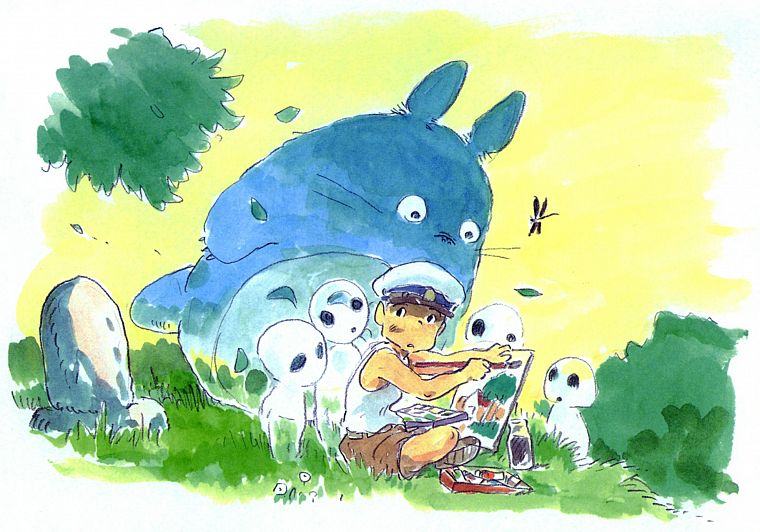 Totoro, My Neighbour Totoro - desktop wallpaper