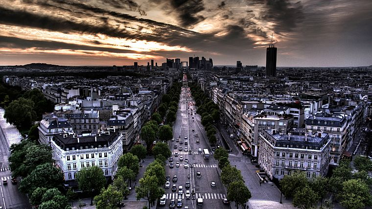 Paris, landscapes, cityscapes, France, buildings, cities - desktop wallpaper