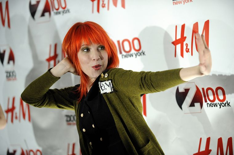 Hayley Williams, Paramore, women, music, redheads, celebrity, singers - desktop wallpaper