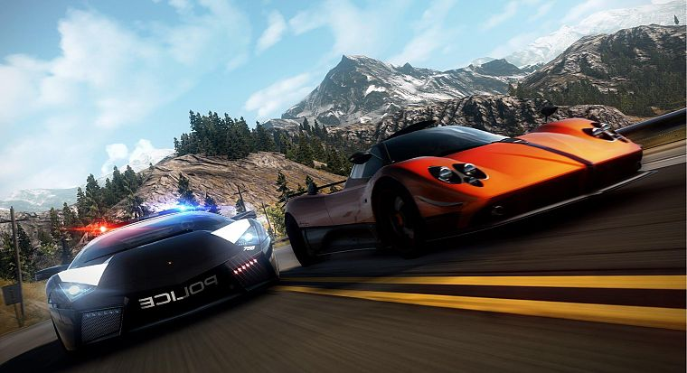 video games, mountains, landscapes, cars, Need for Speed, games - desktop wallpaper