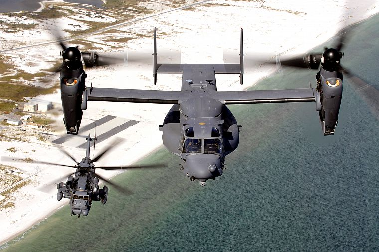 aircraft, V-22 Osprey - desktop wallpaper
