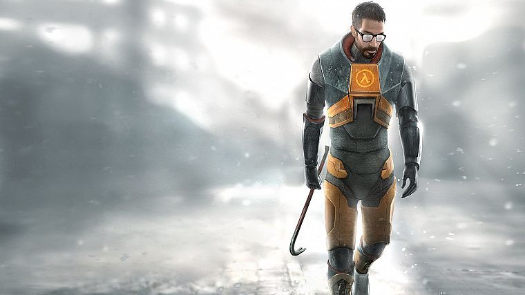 Gordon Freeman, Half-Life 2 - desktop wallpaper