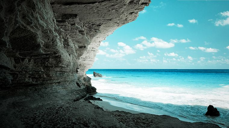 caves, Egypt, beaches - desktop wallpaper
