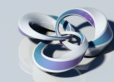 abstract, digital art, 3D modeling, 3D, white background - desktop wallpaper