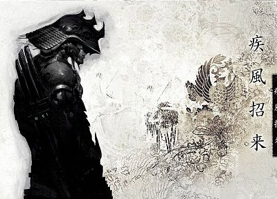 samurai - random desktop wallpaper