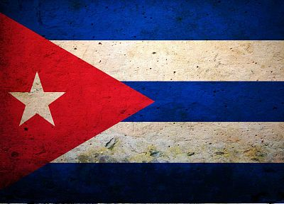 flags, Cuba - random desktop wallpaper