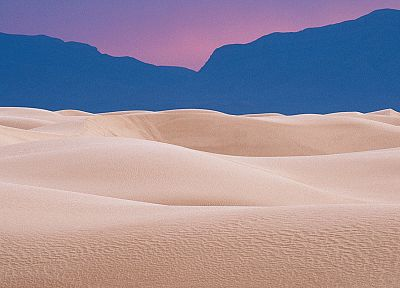 white, national, New Mexico, dunes, evening - random desktop wallpaper